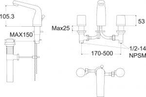 15.1 LA VITA WF-0503 3TH BSN MXR SPECS