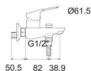cygnet-bath-mixer-specs