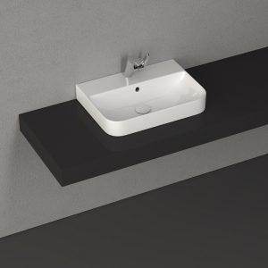10SQ50057SV - Isvea Sott' Aqua 570mm Basin
